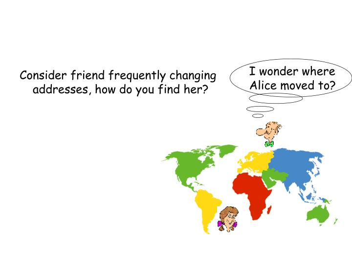 I wonder where Alice moved to?
