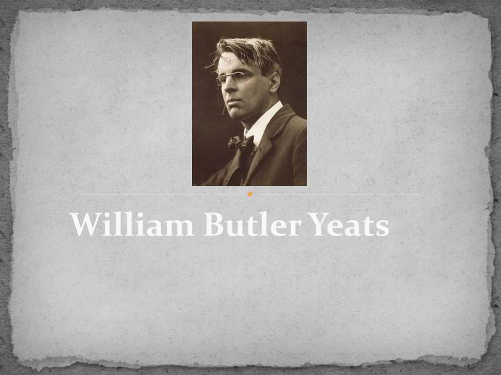 an analysis of philosophical ideas in william butler yeats among school children Among school children by william butler yeats analysis of poems examining yeats's colon: the magical and philosophical ideas for writing an analysis among.