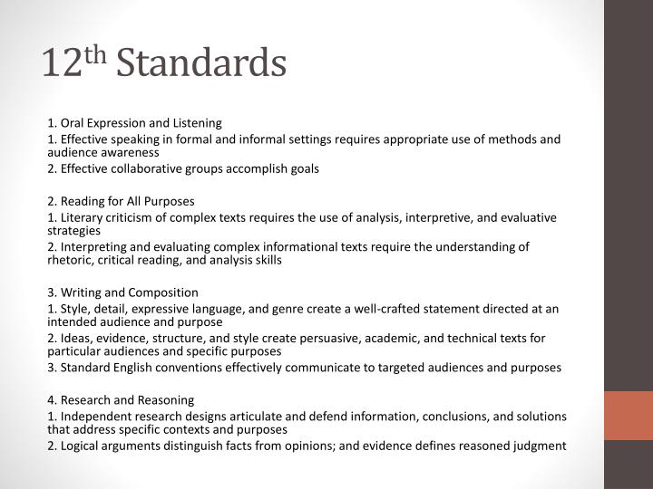 12 th standard general essays Job family standard for administrative work in the inspection, investigation, enforcement, and compliance group series covered: 1801, general inspection, investigation, enforcement, and compliance.