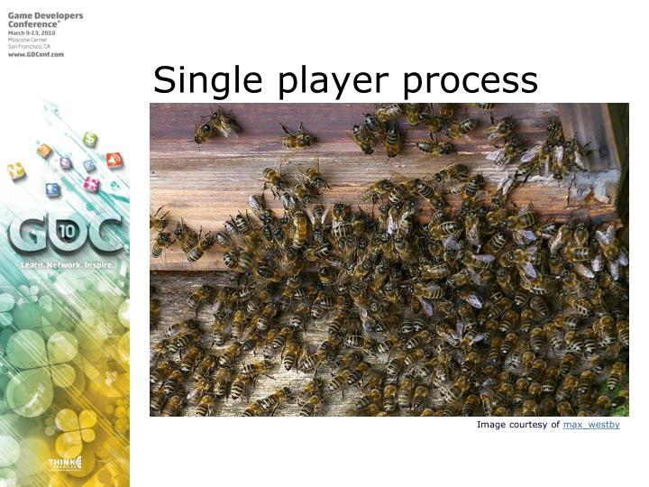 Single player process