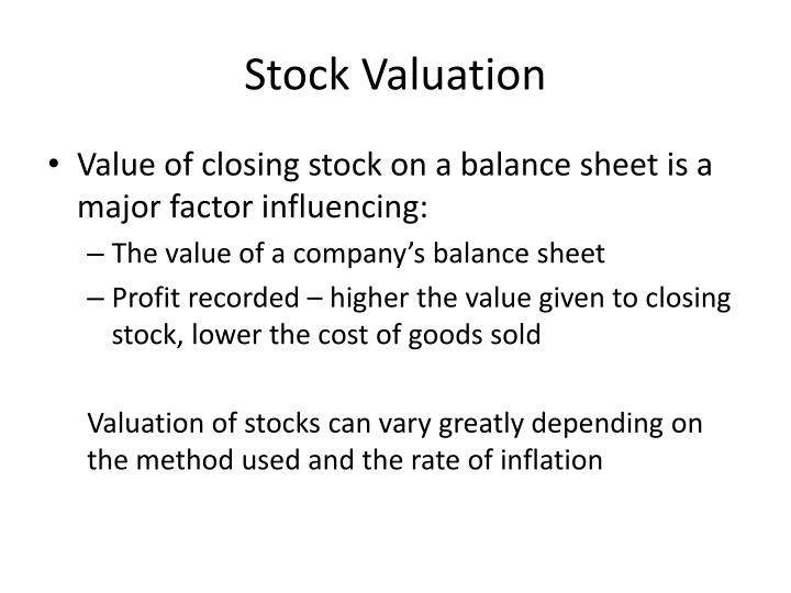 stock valuation essay Purpose of assignment the purpose of this assignment is to demonstrate to students how the issuance of debt to purchase outstanding common stock could affect the value of the company's equity and redefine the capital structure.