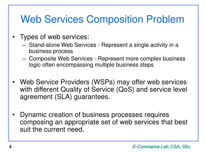 Web Services Composition Problem