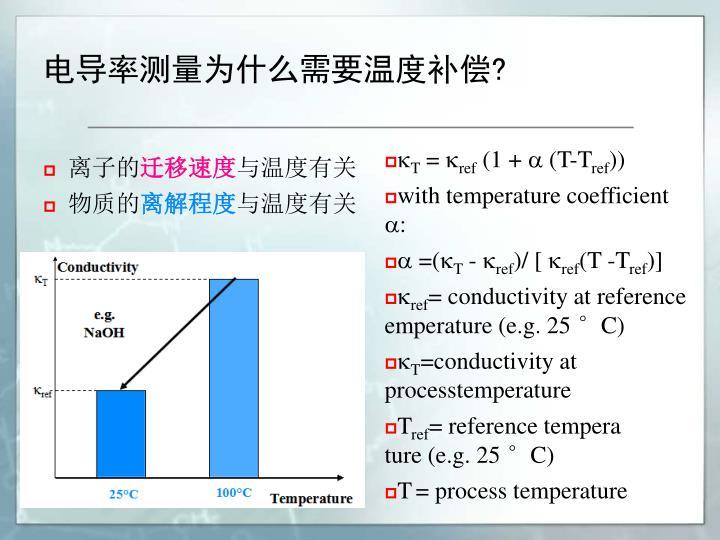 电导率测量为什么需要温度补偿