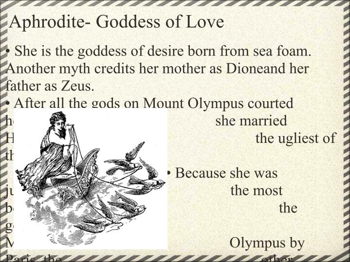Aphrodite- Goddess of Love