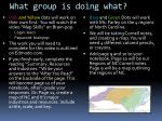 what group is doing what1