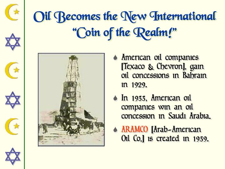 Oil Becomes the New International