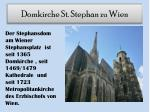 domkirche st stephan zu wien