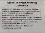gedicht von peter altenberg kaffeehaus