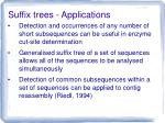 suffix trees applications2