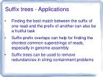 suffix trees applications3