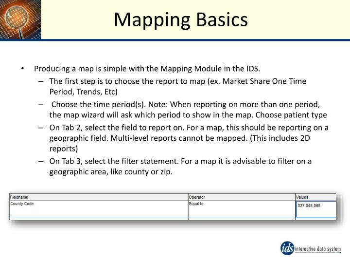 Mapping Basics