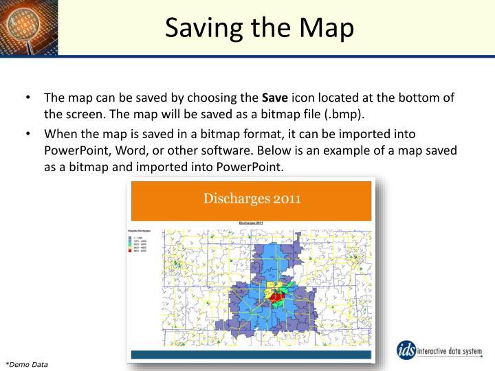 Saving the Map
