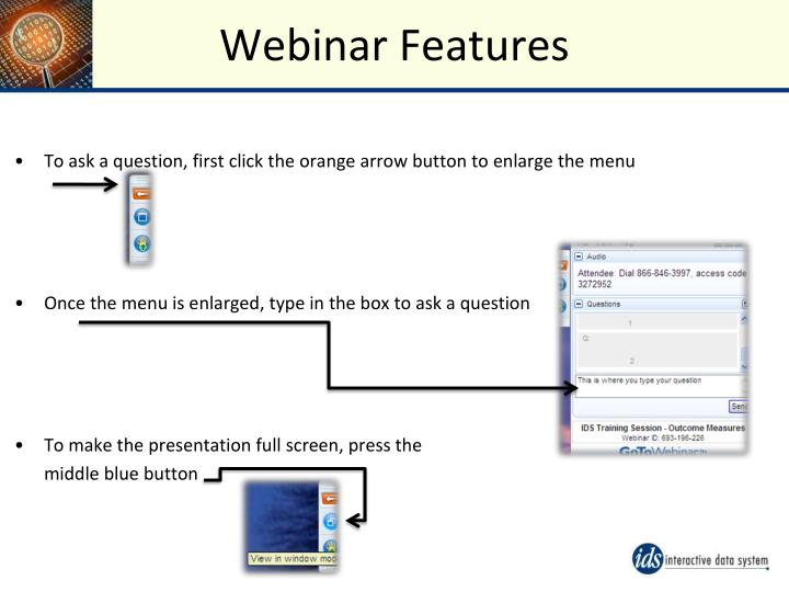 Webinar Features