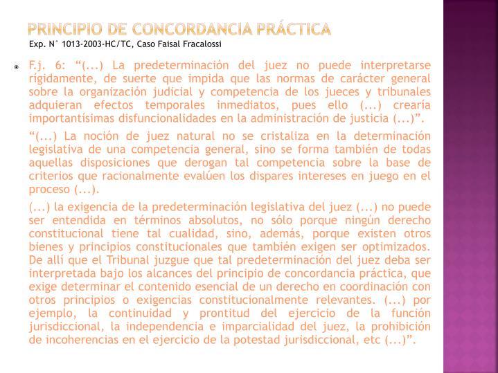 Principio de concordancia práctica