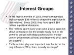 interest groups1