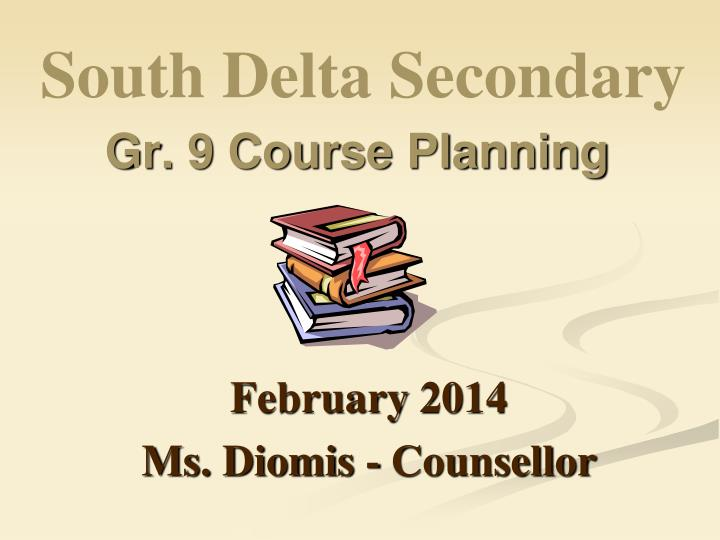 gr 9 course planning n.