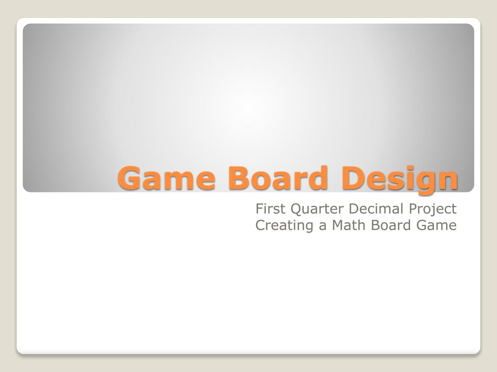 Ppt Game Board Design Powerpoint Presentation Free Download Id 5451367