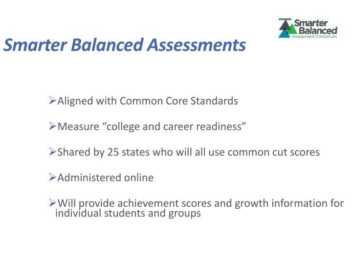 Smarter Balanced Assessments