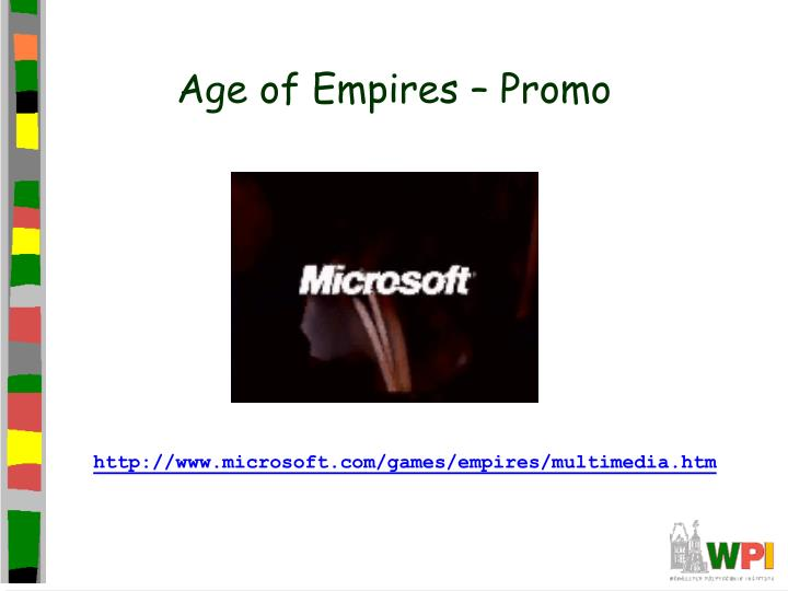 Age of empires promo
