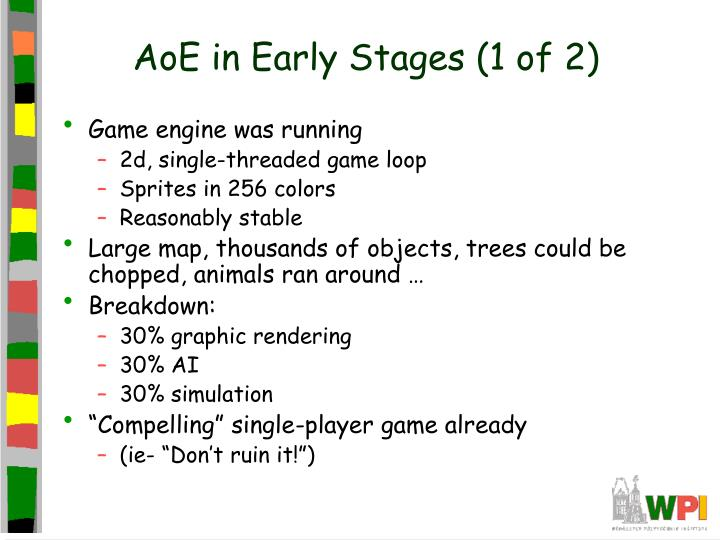 AoE in Early Stages (1 of 2)