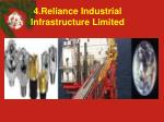 4 reliance industrial infrastructure limited