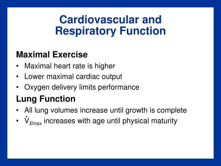 Cardiovascular and