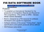 fis data software book