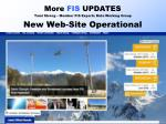 more fis updates tami strong member fis experts data working group new web site operational