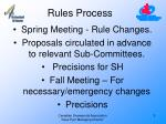 rules process