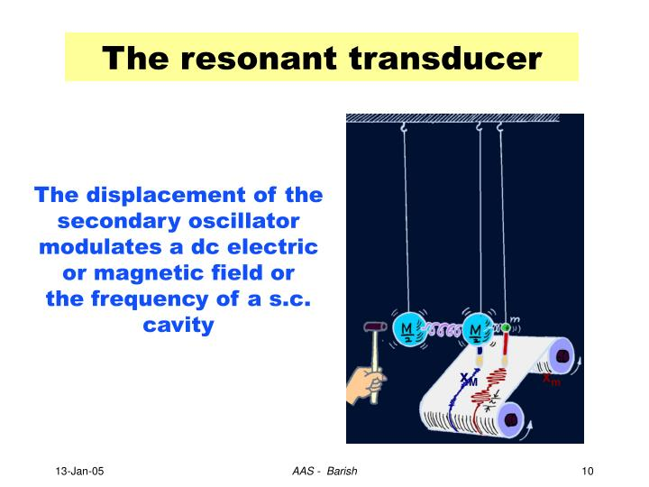 The resonant transducer