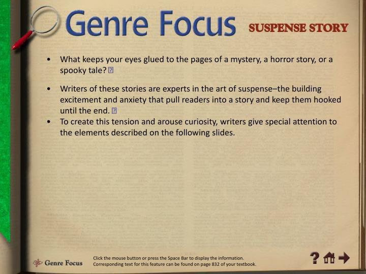 Genre Focus 1