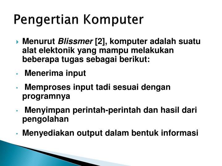 Pengertian komputer1