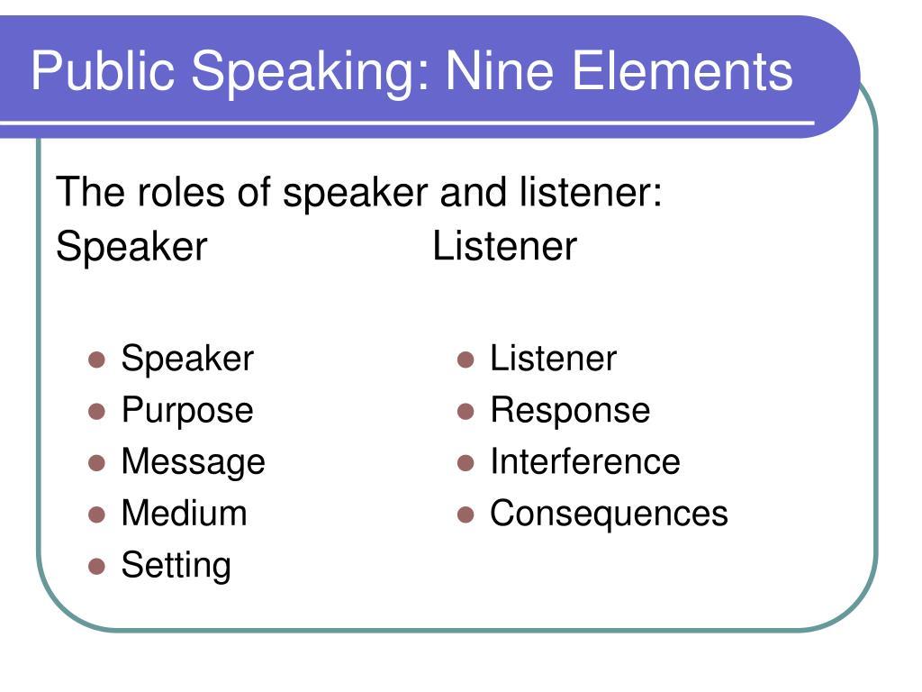 PPT - Public Speaking PowerPoint Presentation, free ...