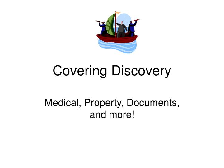 covering discovery n.