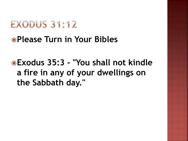 Exodus 31:12