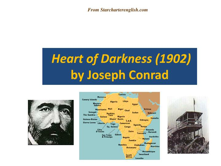 the historical period of imperialism as portrayed in conrads novel heart of darkness The heart of darkness published by novelist joseph conrad, is a true story, published in three parts in the blackwood's magazine in 1998, the heart of darkness was ranked sixty-seventh, of the hundred best novels in english of the twentieth century.