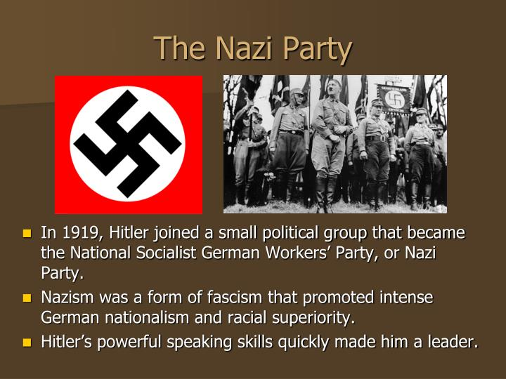 the success of the nazi party essay Adolf hitler rise to power history essay  from him to go around the country in hopes for political success  the nazi party gained eighteen percent of the.