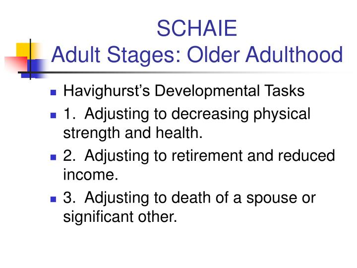 adult stages Levinson called this stage entering the adult world and believed this was the time for doris to create her life structure in that, he believed that young adults address four major tasks during.