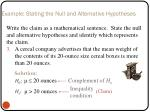 example stating the null and alternative hypotheses2