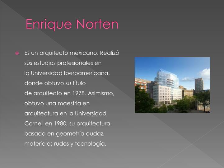 Enrique Norten