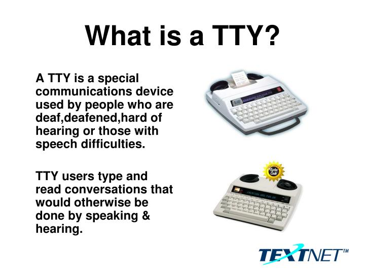 what is a tty