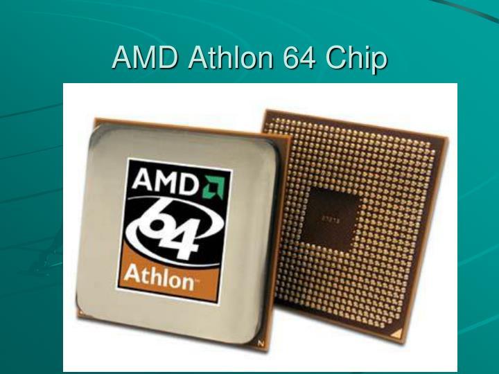 AMD Athlon 64 Chip