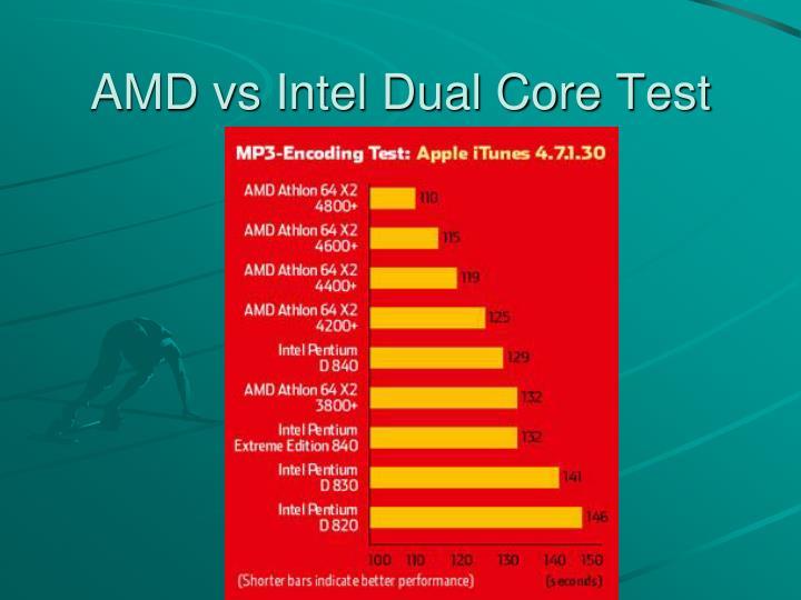 AMD vs Intel Dual Core Test