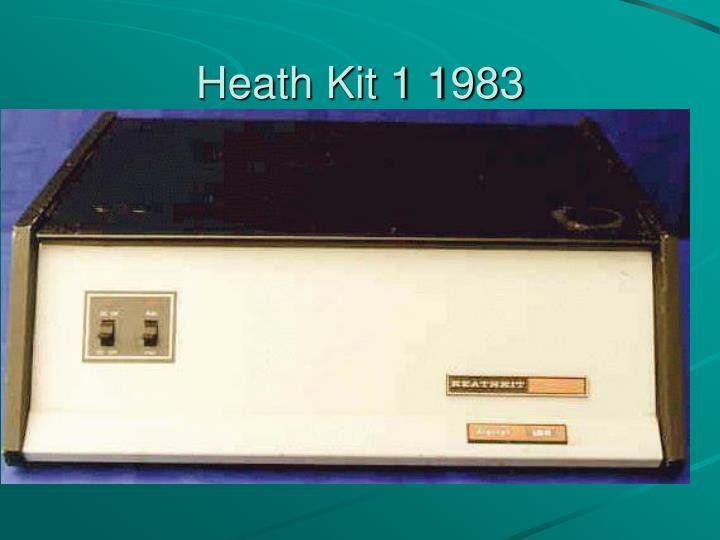 Heath Kit 1 1983