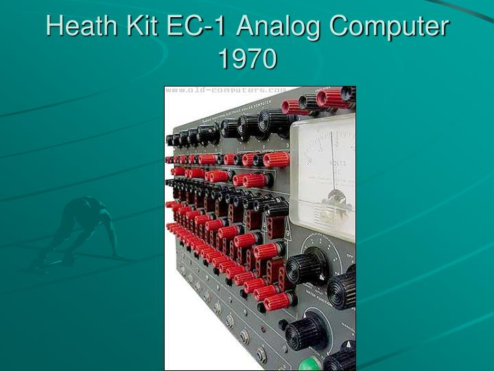 Heath Kit EC-1 Analog Computer 1970