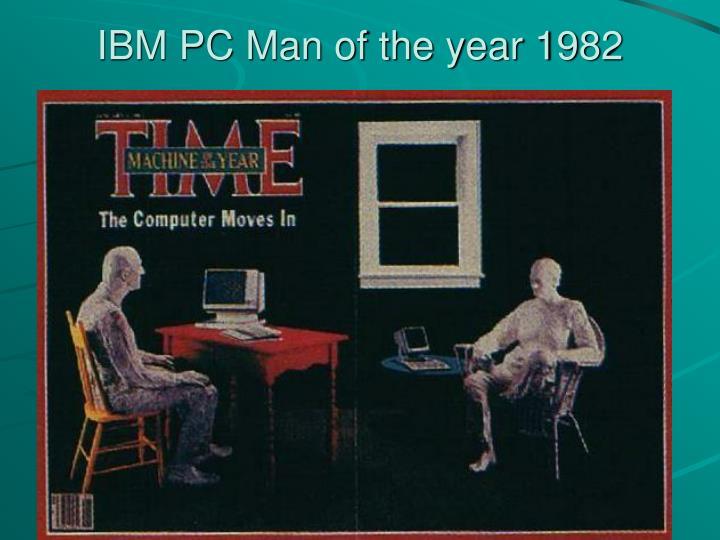 IBM PC Man of the year 1982