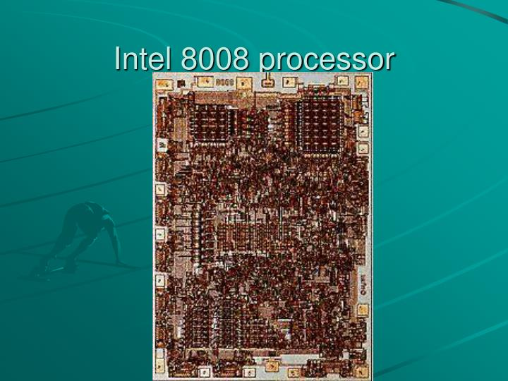 Intel 8008 processor