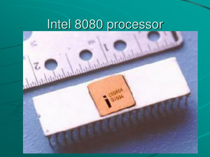 Intel 8080 processor