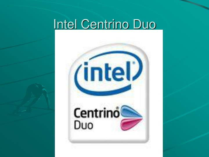 Intel Centrino Duo