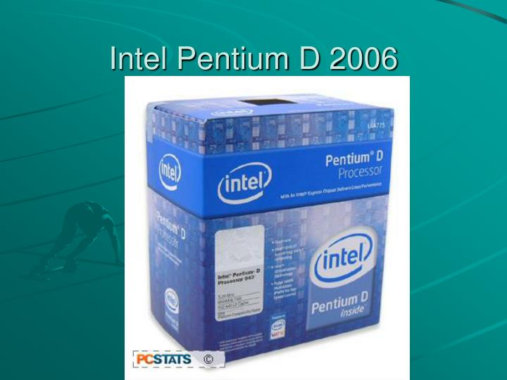 Intel Pentium D 2006